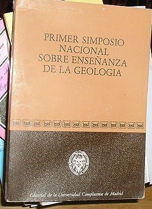 Primer Simposio Nacional Sobre la Enseñanza de: Anguita Virella, Francisco
