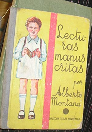LECTURAS MANUSCRITAS: MONTANA, ALBERTO
