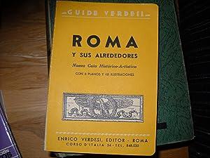 GUIDE VERDESI. ROMA Y SUS ALREDEDORES NUEVA: VVAA
