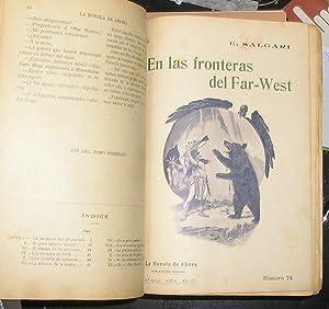 EN LAS FRONTERAS DEL FAR WEST, LA CAZADORA DE CABELLERAS -EDICION ILUSTRADA POR VALLES Y PICOLO-: ...