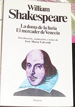 LA DAMA DE LA FURIA. EL MERCADER: shakespeare, william