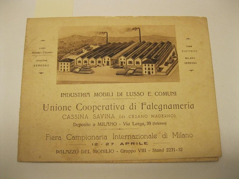 Mobili Di Lusso Milano : Industria mobili di lusso e comuni unione cooperativa di