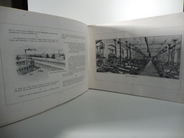 Descrizione degli Stabilimenti di Novara, Busto Arsizio e Castellanza della Manifattura Tosi: ...