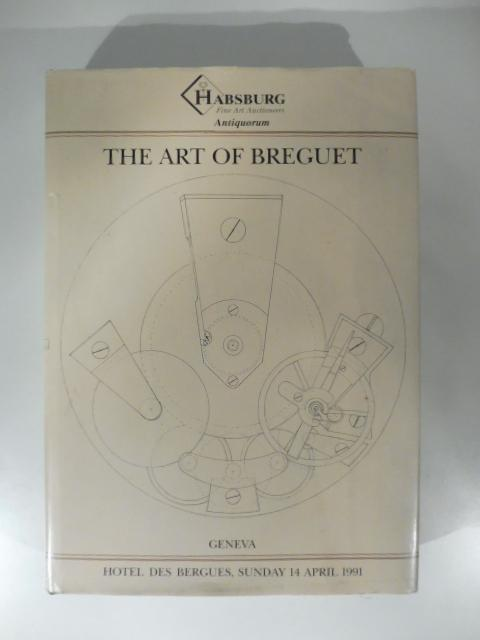 The art of breguet an important collection of 204 watches, colcks and wristwatches AA.VV. In 8, cm 12x 27,5, pp. 479 + (4). con centinaia di illustrazioni in bianco e nero e a colori nel testo. Rilegatura in telaeditoriale con titoli in