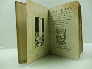 M. Verrii Flacci quae extant et sex.: FLACCUS Marcus Verrius