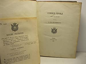 Codice civile per gli Stati di S.: Anonimo