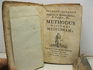 Hermanni Boerhaave Philosophiae & Medicinae Doctoris & Professoris. Methodus discendi medicinam