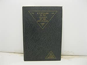 A voyage to the island of the articoles translated from the French by David Garnett. Wood engravi...