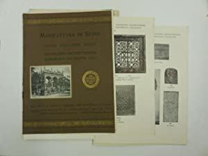 Manifattura di Signa. Catalogo. Decorazioni architettoniche, bassorilievi decorati: Anonimo