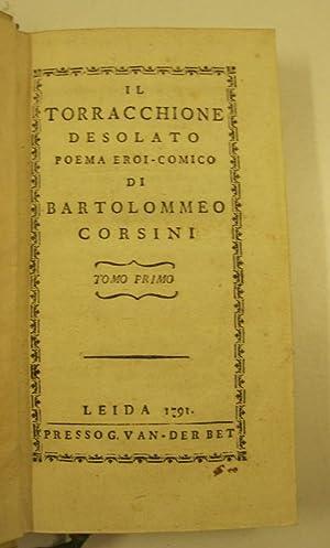 Il torracchione desolato poema eroi - comico: CORSINI Bartolomeo