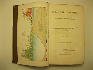 Sinai and Palestine in connection with their history. New edition. With maps and plans