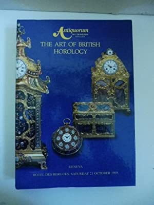 The art of british horology. Geneva. Hotel des Bergues, Saturday 21 october 1995