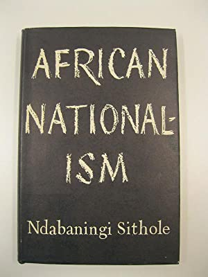 African nationalism with a foreword by the hon. Garfield Todd