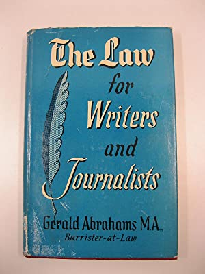 The law for writers and journalist