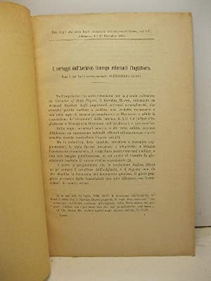I carteggi dell'Archivio Gonzaga riflettenti l'Inghilterra: LUZIO Alessandro
