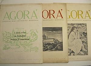 Agora', numeri 9-10-12 (anno II), 1 (anno: LE CORBUSIER