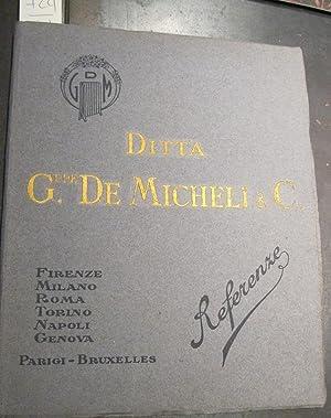 Ditta Giuseppe De Micheli & C.: Anonimo