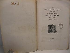 I poeti Francescani in Italia nel secolo: OZANAM A. F.