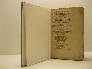 De romana republica sive de re militari: CANTEL Pierre Joseph