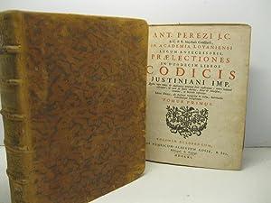 Ant. Perezi J. C. in Academia Lovaniensi: PEREZ Antonius