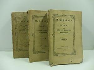 Il Ramayana di Valmici. Seconda edizione riveduta e corretta. Vol. I (-III): GORRESIO Gaspare