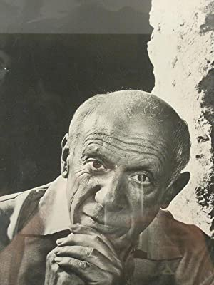 Pablo Picasso. Painter and sculptor. Portrait study by Karsh of Ottawa.