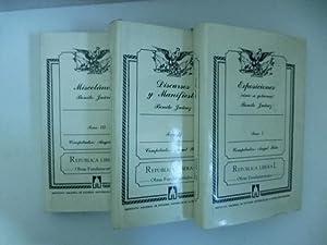 Exposiciones (como se gobierna). Biografia por Anastasio Zerecero. Notas de Angel Pola. Tomo I (-...