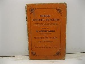 Indice cronologico e bibliografico d'illustri italiani dal: GAZZINO Giuseppe