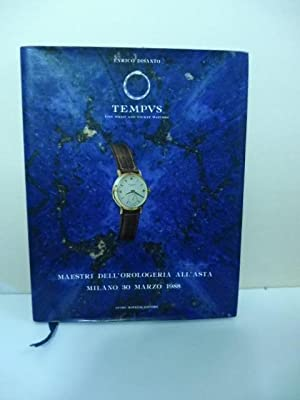 Tempus. Fine wrist and pocket watches. Maestri dell'orologeria all'asta, Milano 30 marzo 1988