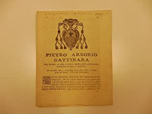 Pietro Arborio Gattinara. al venerabile clero. Viva S. Secondo, viva il Re. il terrorismo, le for...