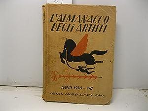 L'almanacco degli artisti 1930: 0