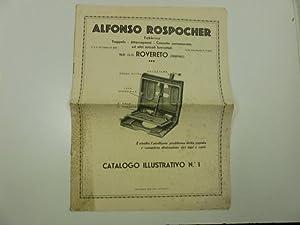 Alfonso Rospocher fabbrica trappole, attaccapanni, cassette contamonete ed altri articoli ...