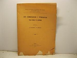 Note morfologiche e petrografiche sull'isola di Capraia.: ROVERETO G., AIROLDI
