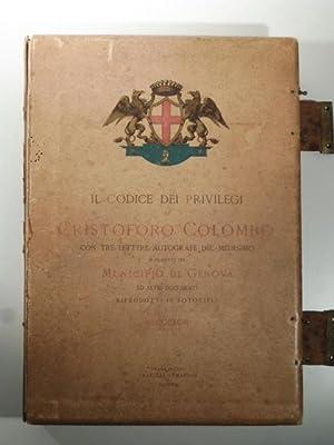 Il codice dei privilegi di Cristoforo Colombo: 0