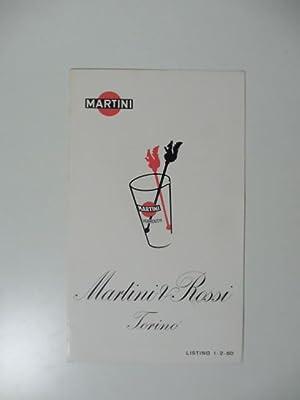 Martini & Rossi, Torino, pieghevole pubblicitario: Anonimo