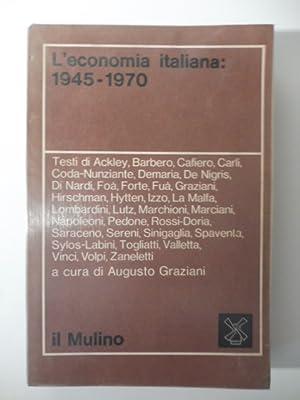 L'economia italiana: 1945-1970: AA. VV.