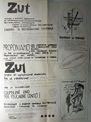 Zut. Numero unico. Lire 150. Supplemento a Stampa Alternativa