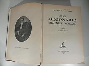 Gran dizionario Piemontese - Italiano: DI SANT'ALBINO Vittorio