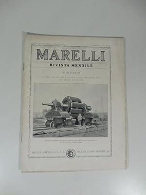 Marelli. Rivista mensile, num. 5-6, maggio-giugno 1934.: ZERIALI