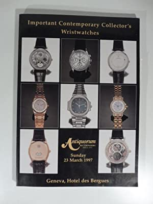 Antiquorum Auctioneers. Importantes montres-bracelets moderne de collection et montre de poche, p...