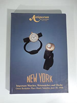 Antiquorum Auctioneers - Important collector's watces, wristwatches and cocks property from vario...