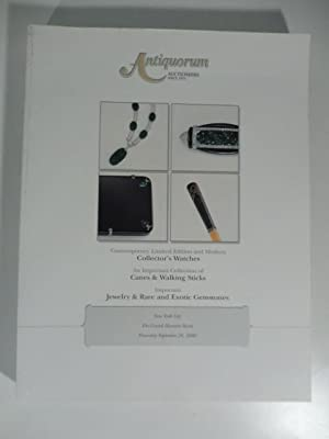 Antiquorum Auctioneers - Contemporary Limited Edition and modern Collector's Watches. An importan...