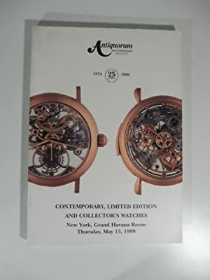 Antiquorum Auctioneers - Contemporary, limited edition and collector's watches & important collec...