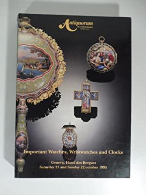 Antiquorum Auctioneers - Importantes montres, montres-bracalet de collection et pendules propriet...