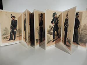 La Sardaigne militaire. Leporello contenente 25 litografie: Anonimo