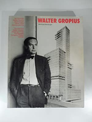 Walter Gropius. The architect Walter Gropius. Drawings, Print and photographs from.