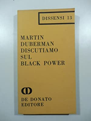 Discutiamo sul black power