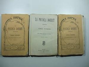 La piccola Dorrit. Romanzo. Prima traduzione dall'inglese: DICKENS Charles, VERDINOIS