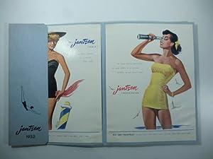Jantzen 1952. Costumi da bagno, moda mare.: Anonimo