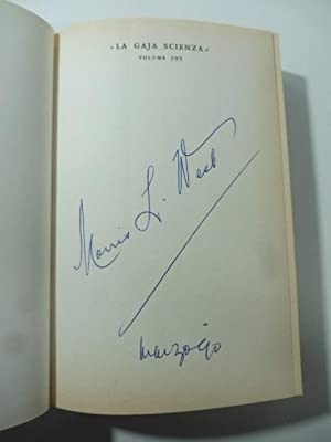 Lazzaro. Copia con firma dell'Autore (signed copy)